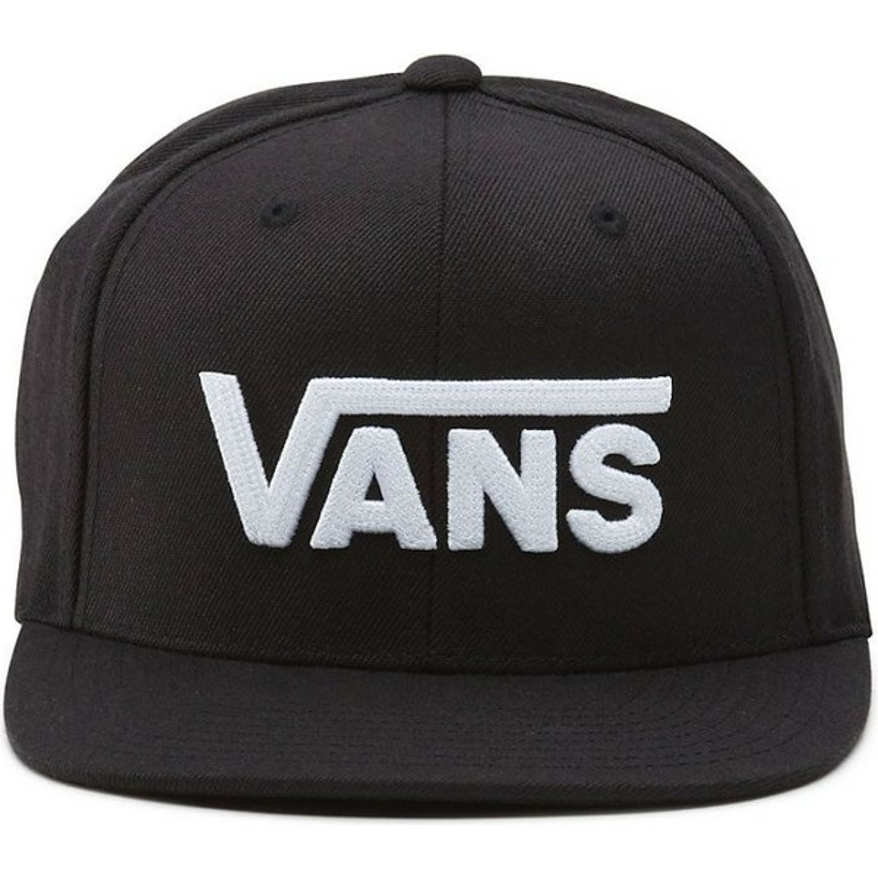 Gorra plana negra snapback Drop V II de Vans  comprar online en ... 4c8b04b730e
