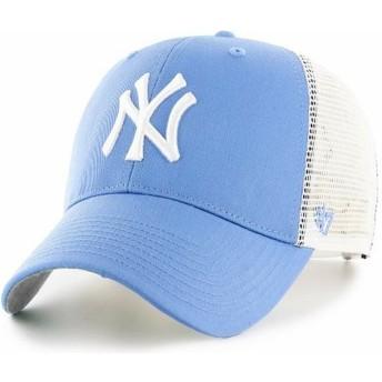 Gorra trucker azul claro de New York Yankees MLB MVP Branson de 47 Brand