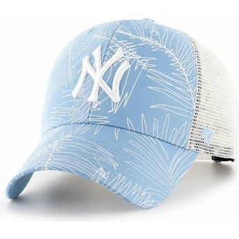 Gorra trucker azul claro de New York Yankees MLB MVP Palma de 47 Brand