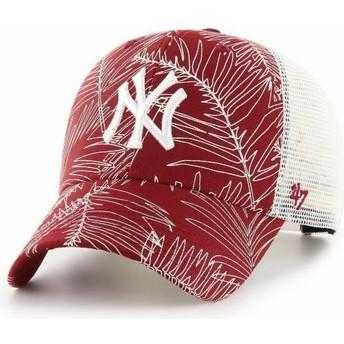 Gorra trucker roja de New York Yankees MLB MVP Palma de 47 Brand