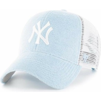 Gorra trucker azul claro de New York Yankees MLB MVP Weatherbee de 47 Brand