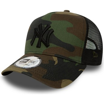 Gorra trucker camuflaje Clean A Frame de New York Yankees MLB de New Era