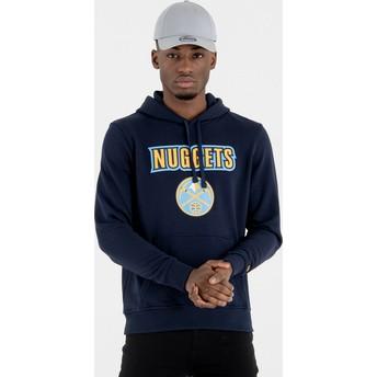 Sudadera con capucha azul marino Pullover Hoody de Denver Nuggets NBA de New Era