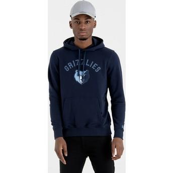Sudadera con capucha azul marino Pullover Hoody de Memphis Grizzlies NBA de New Era