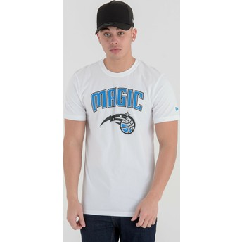Camiseta de manga corta blanca de Orlando Magic NBA de New Era