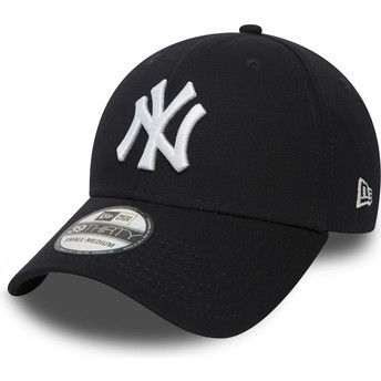 Gorra curva azul marino ajustada 39THIRTY Classic de New York Yankees MLB de New Era