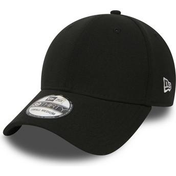 Gorra curva negra ajustada 39THIRTY Basic Flag de New Era