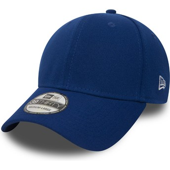 Gorra curva azul ajustada 39THIRTY Basic Flag de New Era