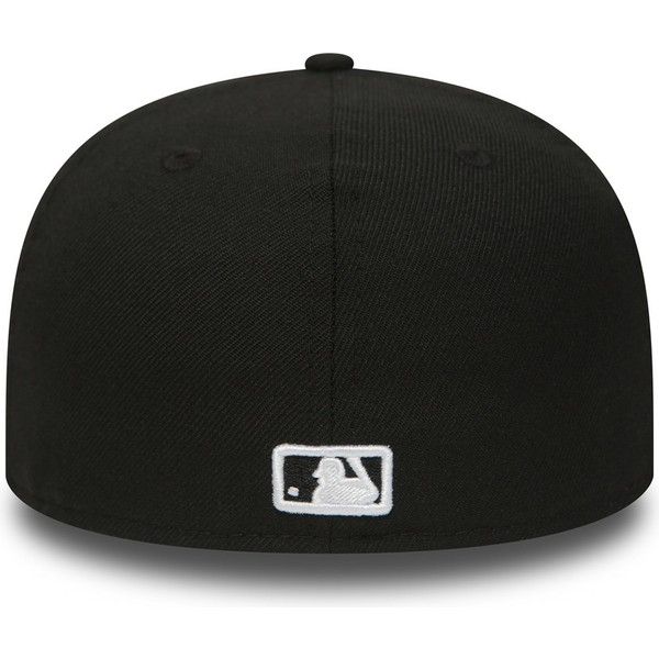 gorra-plana-negra-ajustada-59fifty-essential-de-atlanta-braves-mlb-de-new-era