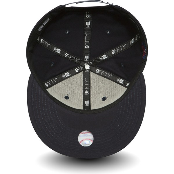 gorra-plana-azul-marino-ajustable-9fifty-essential-de-boston-red-sox-mlb-de-new-era