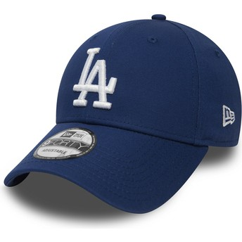 Gorra curva azul ajustable 9FORTY Essential de Los Angeles Dodgers MLB de New Era