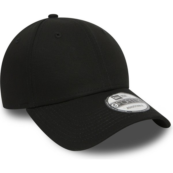 Gorra curva negra ajustable 9FORTY Basic Flag de New Era  comprar ... d3eee57f535d1