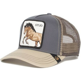 Gorra trucker gris caballo You Stud de Goorin Bros.