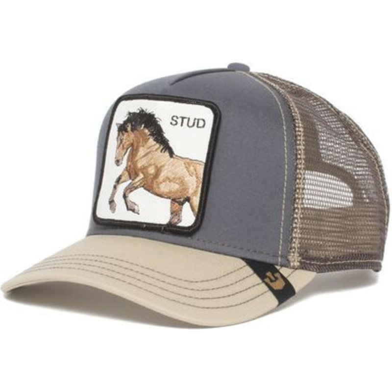 gorra-trucker-gris-caballo-you-stud-de-goorin-bros