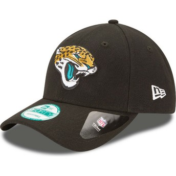 Gorra curva negra ajustable 9FORTY The League de Jacksonville Jaguars NFL de New Era