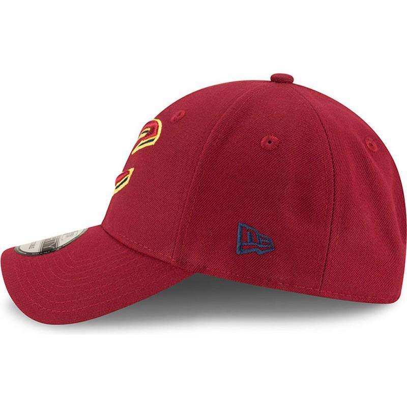 Gorra curva roja ajustable 9FORTY The League de Cleveland Cavaliers ... 0bf4f3ac54b