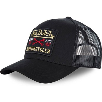 Gorra curva negra ajustable BLACKY2 de Von Dutch