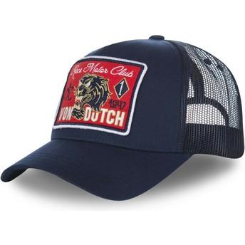 Gorra trucker azul marino FAMOUS2 de Von Dutch
