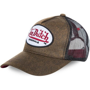 Gorra trucker marrón OG de Von Dutch