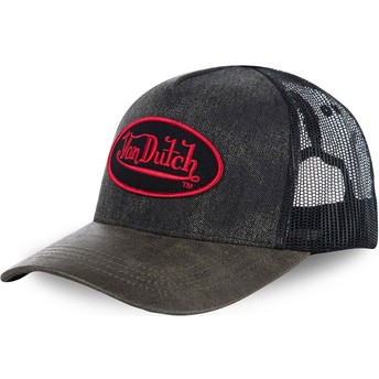 Gorra trucker negra ROB de Von Dutch