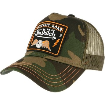 Gorra trucker camuflaje SQUARE4 de Von Dutch