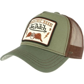 Gorra trucker verde SQUARE6 de Von Dutch