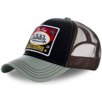 Gorra trucker negra y gris SQUARE18 de Von Dutch