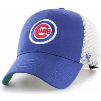 Gorra curva azul ajustable con logo clásico de Chicago Cubs MLB MVP ... fe5ef4d555a