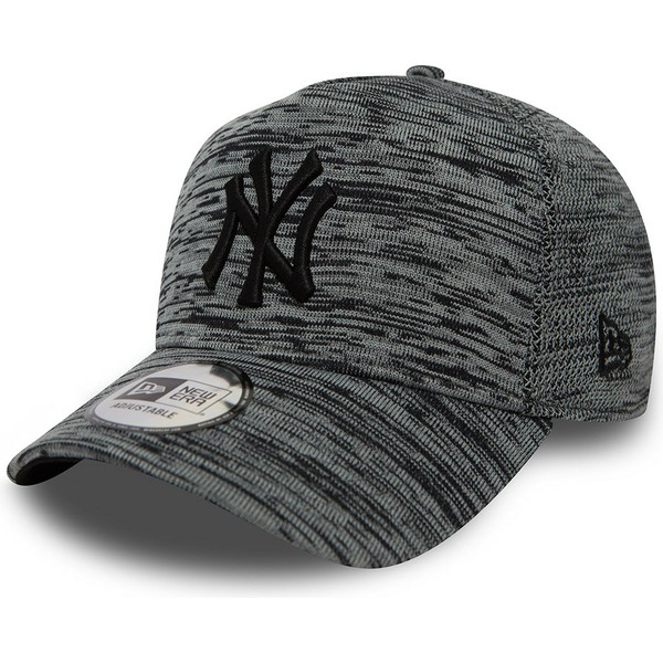 gorra-curva-gris-jaspeado-snapback-de-new-york-yankees-mlb-engineered-fit-a-frame-de-new-era
