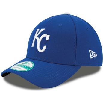 Gorra curva azul ajustable 9FORTY The League de Kansas City Royals MLB de New Era