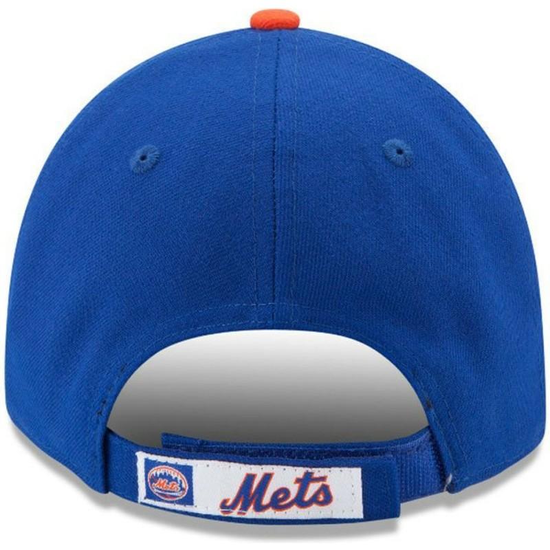 17cc32fa1ff5c ... York Mets MLB de New Era. gorra-curva-azul-ajustable-9forty-the-league- de-