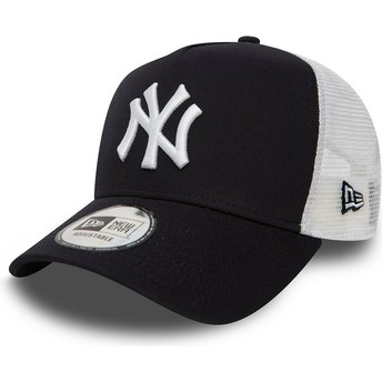Gorra trucker azul marino Clean A Frame 2 de New York Yankees MLB de New Era