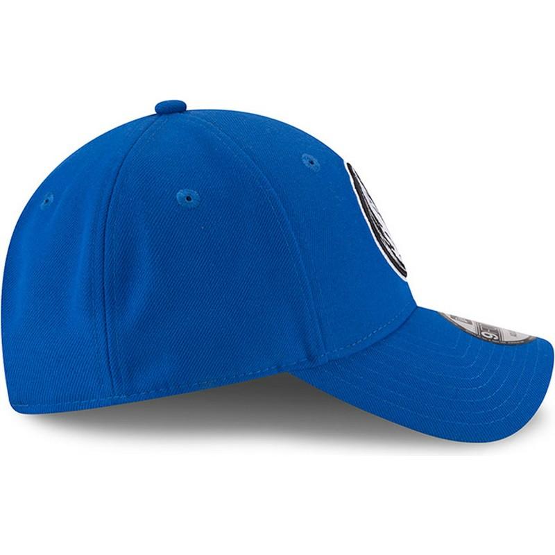 ... Dallas Mavericks NBA de New Era. gorra-curva-azul-ajustable-9forty-the- league-de- 18bfd6ebb33