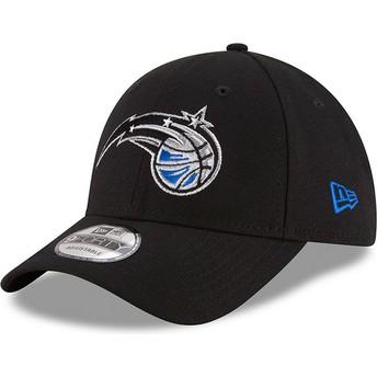 Gorra curva negra ajustable 9FORTY The League de Orlando Magic NBA de New Era