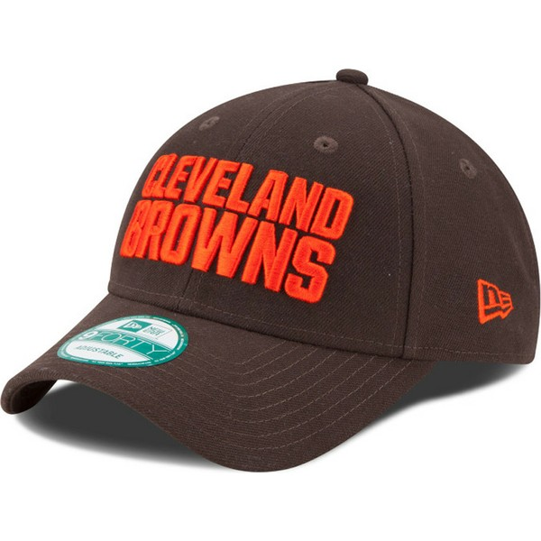 gorra-curva-marron-ajustable-9forty-the-league-de-cleveland-browns-nfl-de-new-era