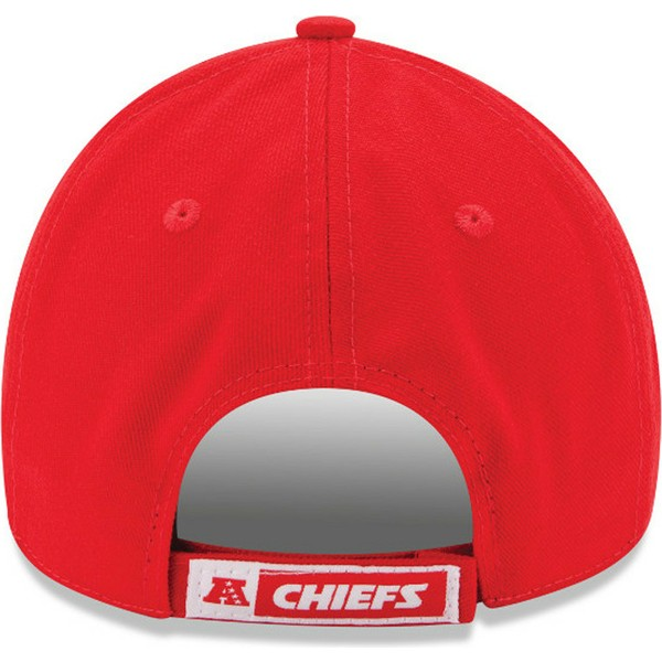 gorra-curva-roja-ajustable-9forty-the-league-de-kansas-city-chiefs-nfl-de-new-era