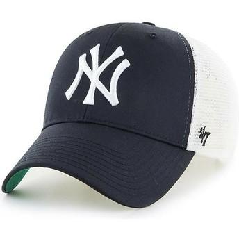 Gorra trucker negra para niño de New York Yankees MLB MVP Branson de 47 Brand