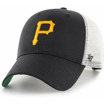 Gorra trucker negra de Pittsburgh Pirates MLB MVP Branson de 47 Brand