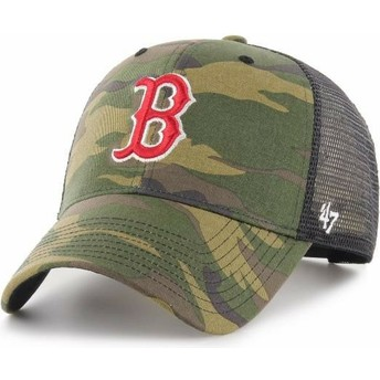 Gorra trucker camuflaje de Boston Red Sox MLB MVP Branson de 47 Brand