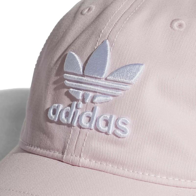 973960d0b66c7 ... gorra-curva-rosa-claro-ajustable-trefoil-classic-de-. Siguiente. Adidas