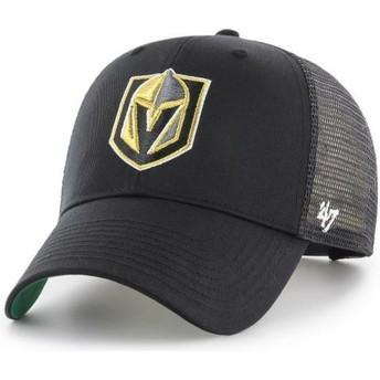 Gorra trucker negra de Vegas Golden Knights NHL MVP Branson de 47 Brand