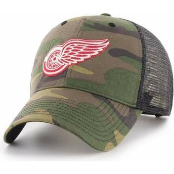 Gorra trucker camuflaje de Detroit Red Wings NHL MVP Branson de 47 Brand