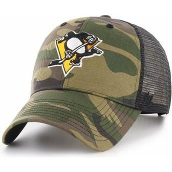 Gorra trucker camuflaje de Pittsburgh Penguins NHL MVP Branson de 47 Brand