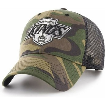 Gorra trucker camuflaje de Los Angeles Kings NHL MVP Branson de 47 Brand