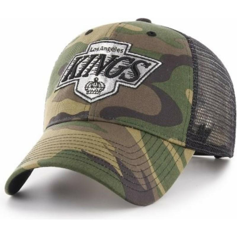 622f5526323b1 Gorra trucker camuflaje de Los Angeles Kings NHL MVP Branson de 47 ...
