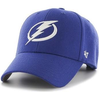 Gorra curva azul de Tampa Bay Lightning NHL MVP de 47 Brand
