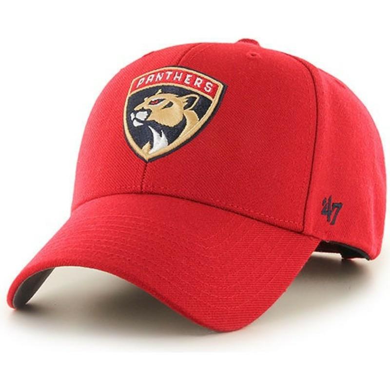 Gorra curva roja de Florida Panthers NHL MVP de 47 Brand  comprar ... 488a08edabc
