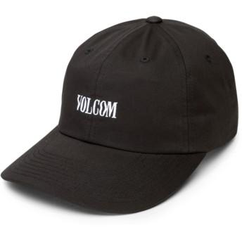 Gorra curva negra ajustable Weave Black de Volcom