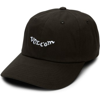 Gorra curva negra ajustable Stencil Black de Volcom