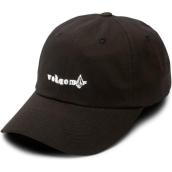 Gorra curva negra ajustable Stonographer Black de Volcom